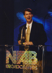 Bill Grady at the 2000 National Association of Broadcasters Marconi Radio Awards in San Francisco, California